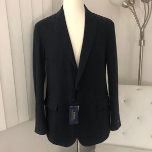 NWT Men's Polo Ralph Lauren Navy Sport Coat 42L
